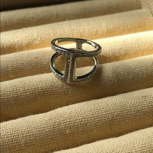 Astra double band ring NWOT